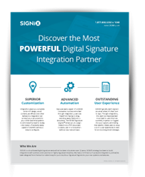 SIGNiX's Integration Guide shows companies how to integrate digital signatures into existing services