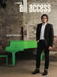 Josh Groban with the Muppets-Inspired Green Piano