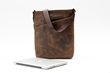 "Indy for 13-inch MacBook Pro Retina—full-grain grizzly leather with ""black"" piping"