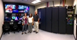 Debby Miller, Scott Goldsmith and Chari Hill  in the new Master Control Room