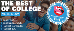 Best of College, Study Breaks magazine, readers' choice polls, Texas