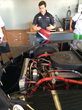 Michael Lira Teaches Young Foster Students About Racing at DCF's...