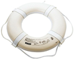 These Coast Guard approved ring buoys are used in swimming pools, professional boats as well as other places