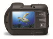 The Micro HD features large, Piano Key controls for easy control underwater