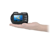 The Micro HD underwater camera fits comfortably in hand
