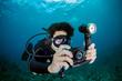 The Micro HD is waterproof to 200 feet underwater