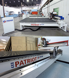 Freedom Machine Tool CNC Router Advancements at IWF Atlanta