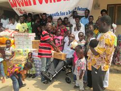 Kwame Bawuah-Edusei Donation Takoradi
