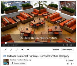 Outdoor Restaurant Furniture Design Ideas Video