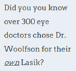 Atlanta LASIK Surgeon Dr. Woolfson