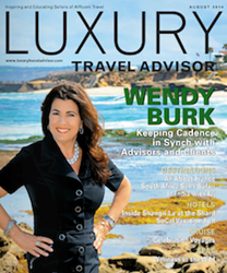Wendy Burk of Cadence Featured on Cover of Luxury Travel Advisor