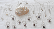 Druzy on a Double Ring Necklaces from Designs by Diane.
