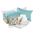 American Made Dorm & Home Aqua Greek Key Dorm Bundle