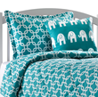 American Made Dorm & Home Turquoise Metro Dorm Bedding