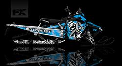 sled wrap, sledwrap, arcticfx, motorfist