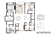 4 Bedroom layout