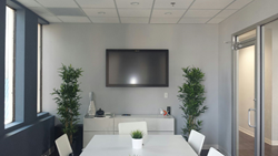ACTS has added the Perceptive Pixel inside their new conference room.
