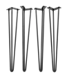 Black 3-Rod Hairpin Legs.