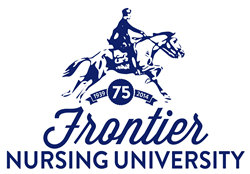 Frontier Nursing University logo