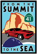 "Classic Cars Rev Up for Cruise ""From The Summit To The Sea"""
