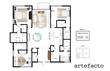 4 Bedroom layout