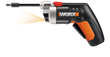 New WORX 4-Volt MaxLithium XTD Driver Adjusts Shaft Length for Extended Reach