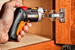 Cabinet hardware installation is easier with WORX XTD Driver.