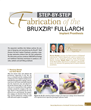 Step-By-Step: Fabrication of the BruxZir® Full-Arch Implant Prosthesis