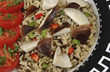 Shiitakes with Rice-a-Roni, a 15-minute feast. 