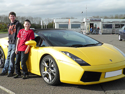 Junior Supercar Driving from Trackdays.co.uk