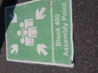 pavement marking sign durability