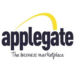 Applegate the business marketplace logo