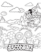 A New On the Farm Coloring Page Available By DiscoBratz