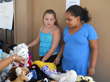 Rich Dad Education employees' children and grandchildren did their part to make the charity yard sale a success