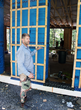 Chris Corson describes an EcoCor home in construction in Woodstock, NY