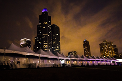 Tenting at Lollapalooza