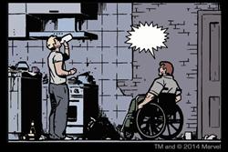 Scene from Hawkeye #19