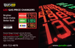 Guru Digital Media High Quality Gas Price Changer Signs