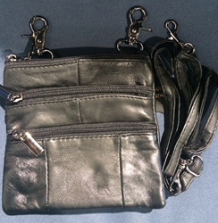 Biker Purse on belt loops or crossbody