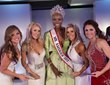 Ms. America 2013 - Chiniqua Pettaway with her court