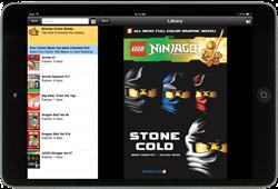 A Screenshot of Digital Comics & Graphic Novel in an App