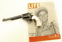 Audie Murphy in Life magazine