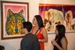 Guests at the 2013 ENDANGERED exhibition in MIami (www.Art4Apes.com)
