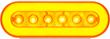 GloLight amber oval LED, GloLight Gen 2 amber oval lamp, STL111AB