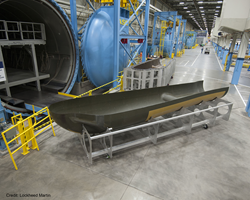 SNC's Dream Chaser® orbital structural airframe