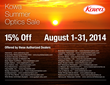 "Kowa Announces First Ever ""Summer Optics Sale"""