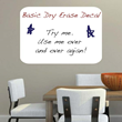 The Basic Dry Erase Decal from Trendy Wall Designs