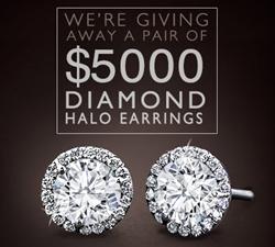 Adiamor Halo Diamond Earrings Jewelry Sweepstakes