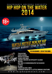Hip Hop on the Water 2014, hip hop, seattle events, seattle, hip hop