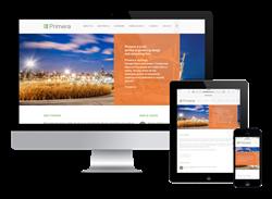 Primera Responsive Website Design
